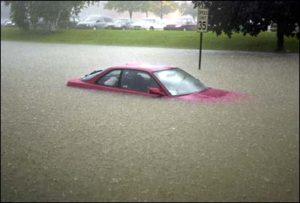 Under Water Car