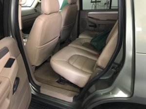 Ford Explorer Clean Backseat