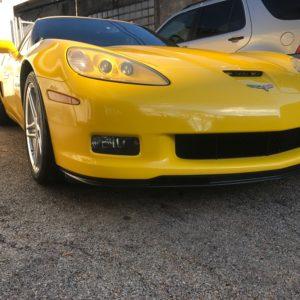 Detailing a Corvette