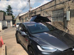 Clear Tint Tesla