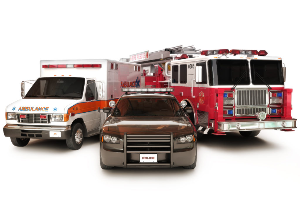 first responder vehicles
