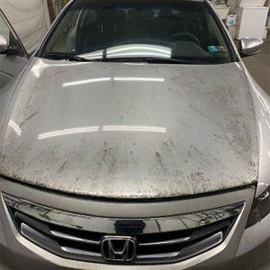 Honda Accord before detail