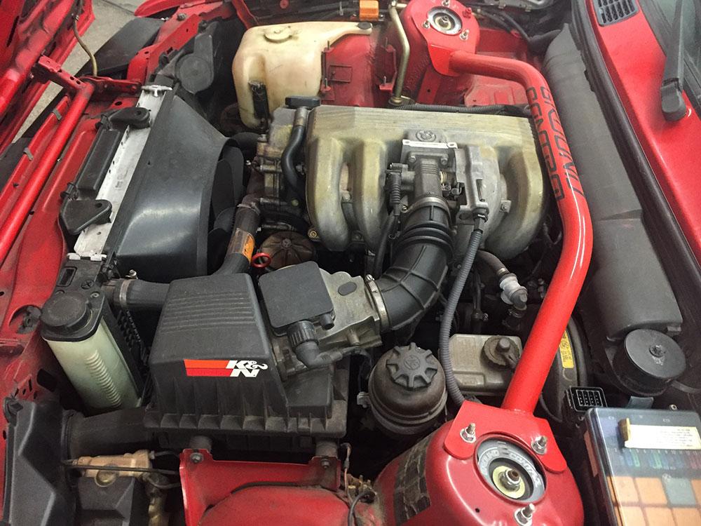Mack Engine clean