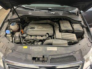 Volkswagen engine before detail