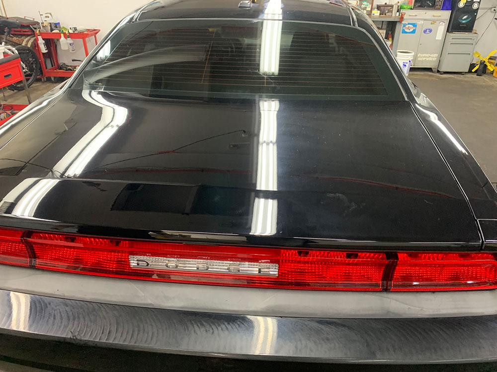 Dodge exterior detail